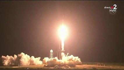 Décollage de Space X pour Mission Alpha avec Thomas Pesquet !