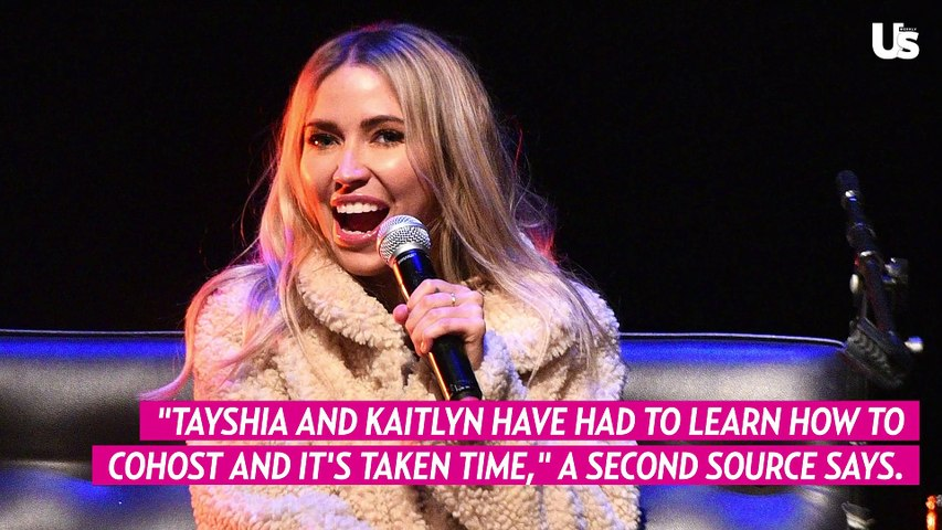 How Tayshia Adams and Kaitlyn Bristowe Are Adjusting on 'Bachelorette' Set