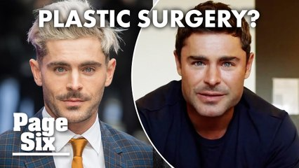 New clip of Zac Efron sparks plastic surgery rumors