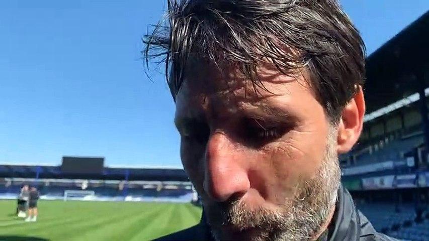 Danny Cowley post Bristol Rovers win