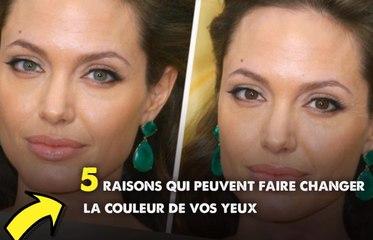 5 raisons qui peuvent faire changer la couleur de vos yeux