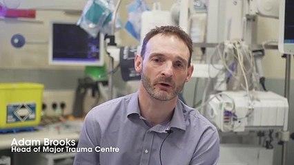 Knife crime interview with major trauma surgeon Adam Brooks