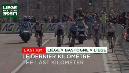 Liège Bastogne Liège Hommes 2021 - Flamme Rouge / Last KM