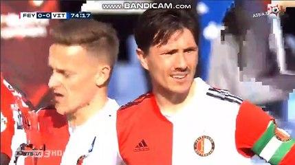Steven Berghuis  Red card  Feyenoord  0  -  0   Vitesse