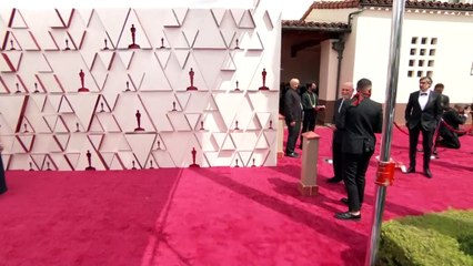 Stars arrive at 93rd Oscars ceremony red carpet
