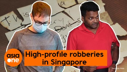 TLDR: High-profile robberies that shocked Singapore