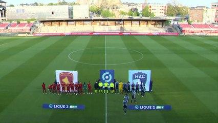 Rodez - HAC (1-1) : le résumé du match