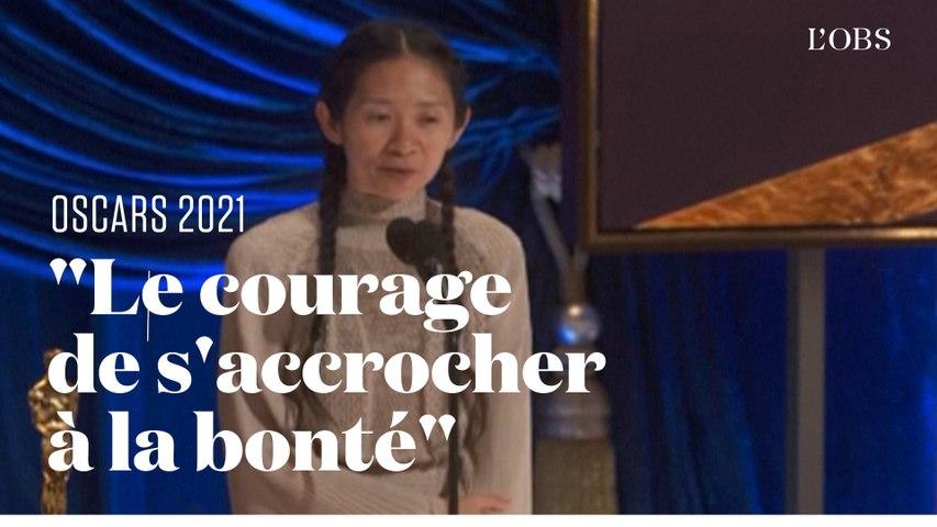 "Oscars 2021 : Chloé Zhao sacrée meilleure réalisatrice avec ""Nomadland"""