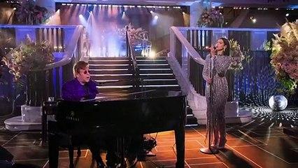 Elton John hosts virtual Oscars party