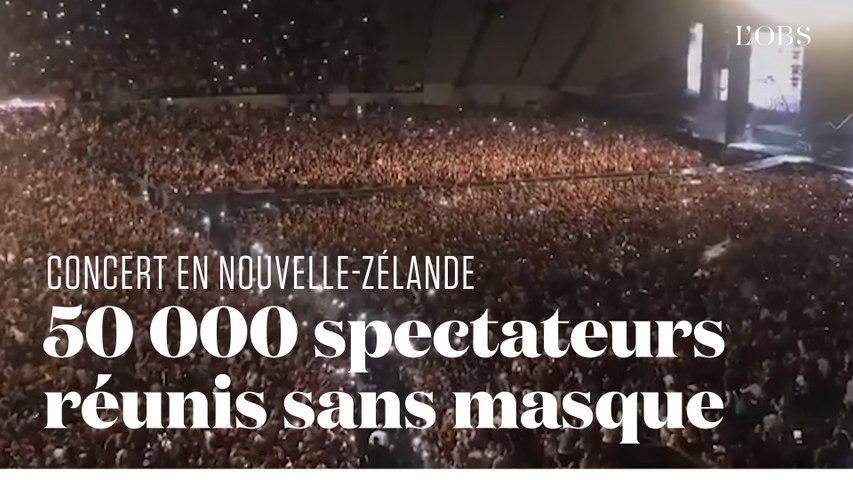 Un concert réunit 50 000 personnes à Auckland en Nouvelle-Zélande