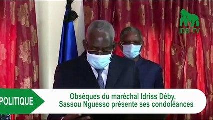 SASSOU NGUESSO aux obsèques d'IDRISS DEBY au Tchad