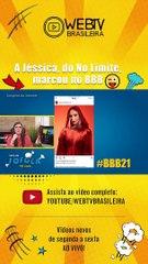 BBB21: A JÉSSICA, DO NO LIMITE, MARCOU NO BBB
