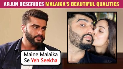 Arjun Kapoor Open Up On What He Has Learnt From Malaika Arora | Trolled For Age Gap
