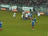 Une petite séquance vidéo du match au stade des alpes