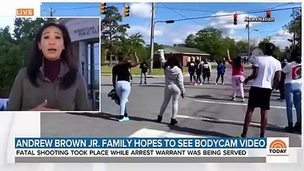 Pressure Builds To Release Body-Cam Footage In Shooting Of Andrew Brown Jr.