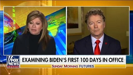 Sen. Rand Paul is 'still waiting' on Biden's unity promise