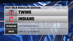Twins @ Indians Game Preview for APR 27 -  6:10 PM ET