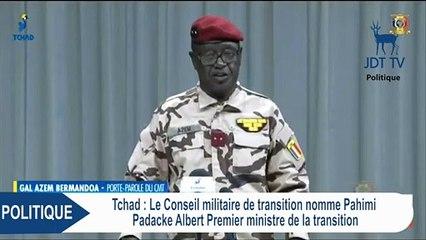 Tchad : Nomination du Premier Ministre PAHIMI PADACKE ALBERT