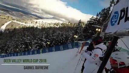 Mogul Skiing GoPro - Deer Valley World Cup 2018