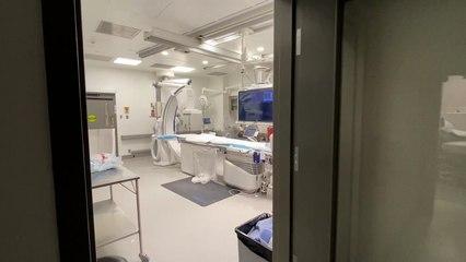 Nouvelle salle en hémodynamie de l'Hôpital Pierre-Boucher