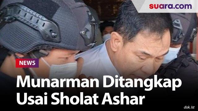 Penangkapan Munarman Disaksikan Istri-Anak, Ketua RT: Sempat Shalat Ashar