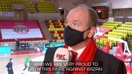 Interview: Prince Albert on Monaco's basketball success