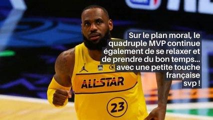NBA – LeBron révèle sa soirée parfaite… avec une touche française !_IN