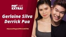 WATCH: QuaranFlingz stars Gerlaine Silva and Derrick Pua on PEP Live EXTRA!