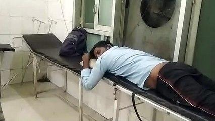 जिला अस्पताल के जनरल वार्ड में मरीजों को नहीं मिल रही ऑक्सीजन