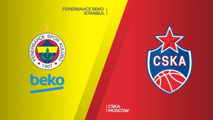 EuroLeague 2020-21 Highlights Playoffs Game 3 video: Fenerbahce 68-85 CSKA