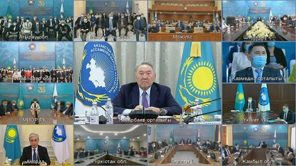 Nursultan Nazarbayev resigns as chair of Assembly of People of Kazakhstan