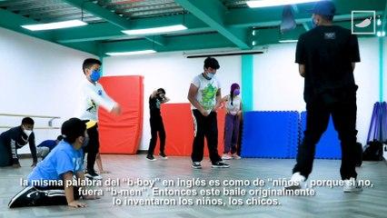 B-boy Friek y sus clases de breaking para niños    #VocesdelaCiudad   CHILANGO