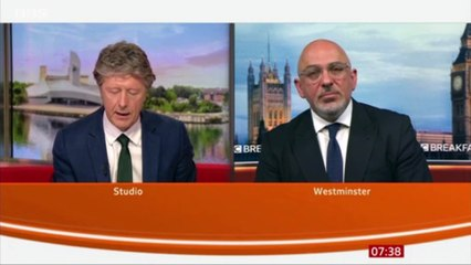 Nadhim Zahawi fails answering why the PM needs to give permission to investigate Tory party