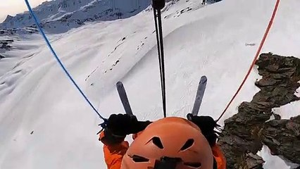 SNOW KITING - Swiss Mountains