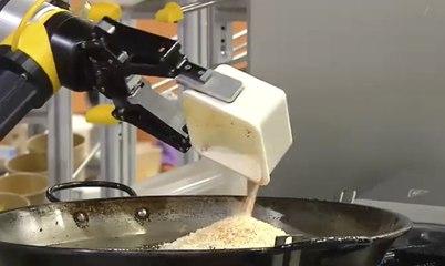 Una empresa española presenta un robot que hace paellas que nunca se pasan