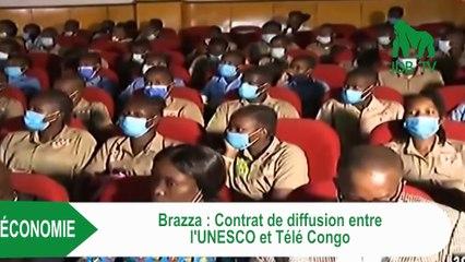 Contrat de diffusion entre l'UNESCO et Télé Congo