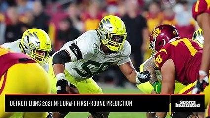 Detroit Lions First-Round 2021 NFL Draft Prediction