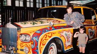 Mike Read Radio Laureate on The Andrew Eborn Show - Churchill, Lennon, Moon and Moss CARS, CARS, CARS