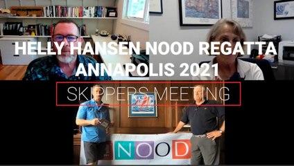Helly Hansen NOOD Regatta Annapolis Skippers Meeting