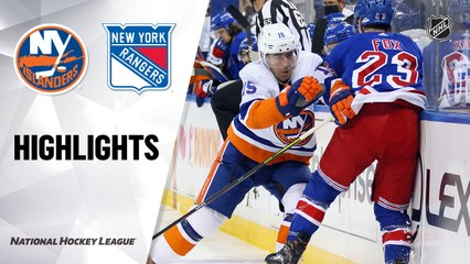 Islanders @ Rangers 4/29/21   NHL Highlights