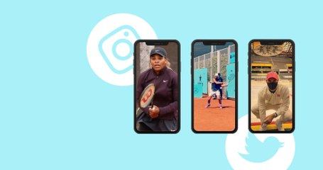 Serena Williams is getting ready for the clay season! - Social Highlights 30.04.2021