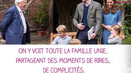 Le prince William et Kate Middleton partagent une vidéo de moments de vie avec leurs enfants.