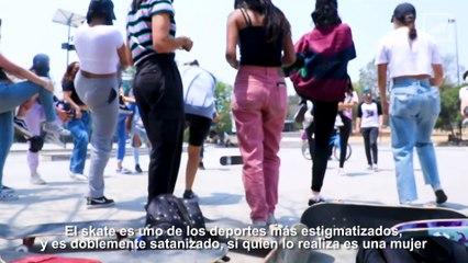 Mixi Skate Crew: skate de morras para morras    #VocesdelaCiudad   CHILANGO