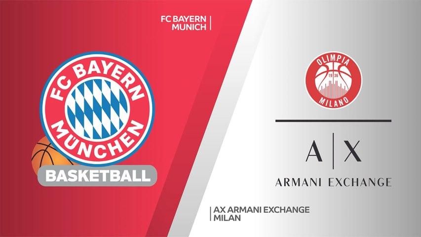 FC Bayern Munich - AX Armani Exchange Milan Highlights   Turkish Airlines EuroLeague, PO Game 4