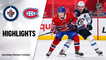 Jets @ Canadiens 4/30/21 | NHL Highlights