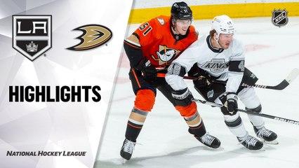 Kings @ Ducks 4/30/21   NHL Highlights