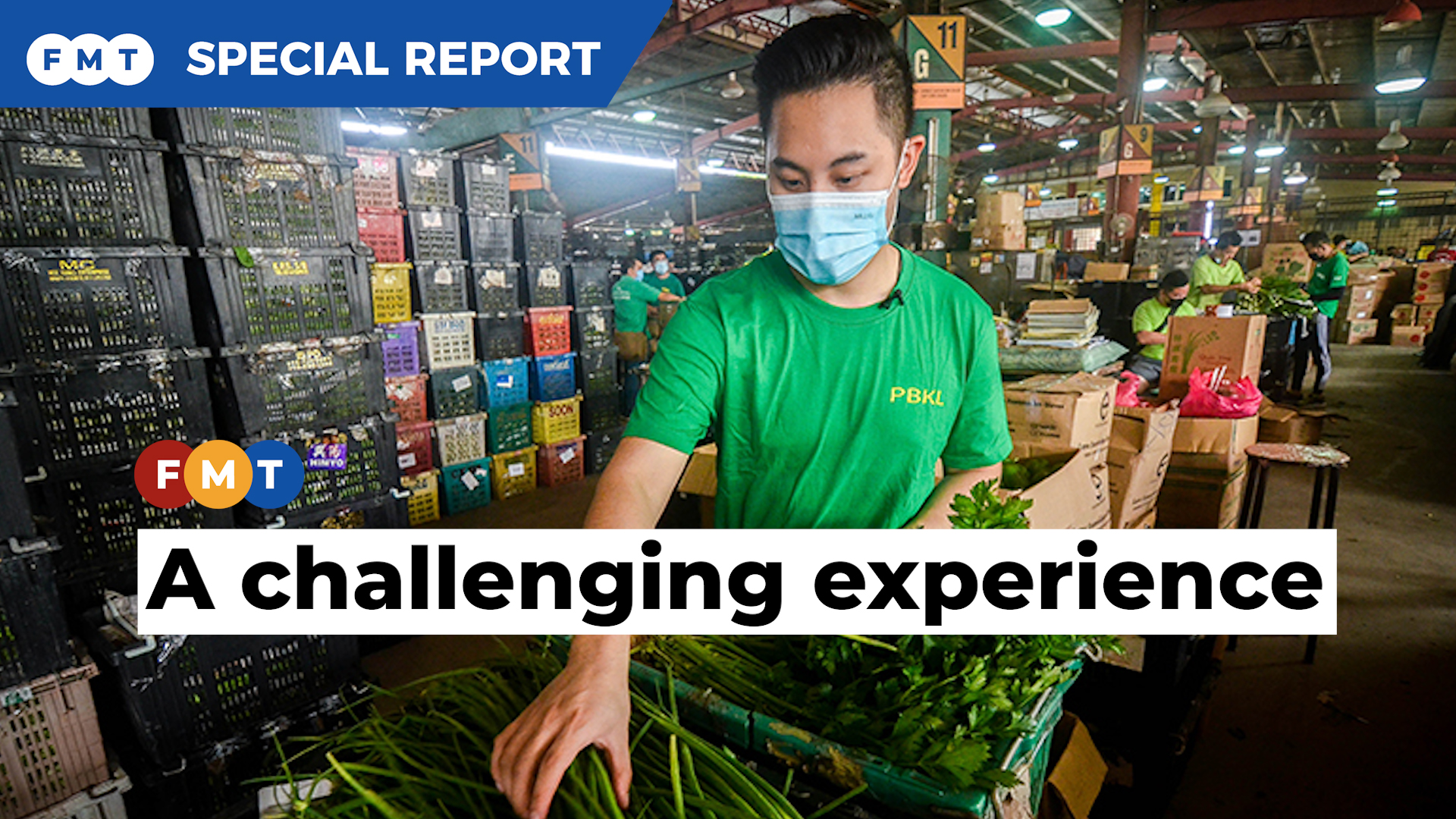 A day in the life of a vegetable trader
