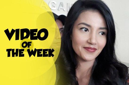 Video of The Week: Tsania Marwa Jemput Anak Didampingi Polisi, Istri Dirly Melahirkan