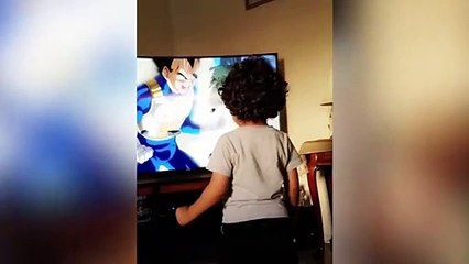 Quand ton fils se prend pour Dragon Ball