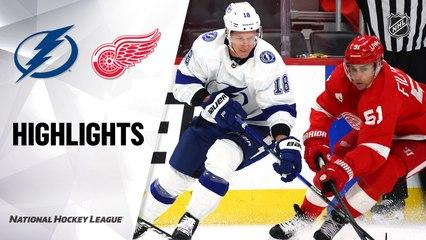 Lightning @ Red Wings 5/1/21   NHL Highlights